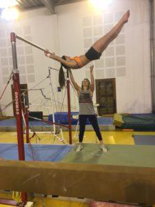 gym compétition gala gym acro artistique babay gym amicale Laïque Eysines