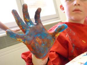 dessin peinture arts plastiques eysines enfants adultes handicapées culture bordeaux