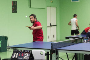 tennis de table Mathieu sports eysines amicale laïque d'eysines bordeaux sportif associations Eysinaises ping pong salle spécifique eysines