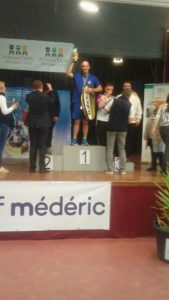 double champion de france de Badminton Romain Meunier