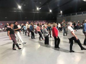 bal de danse country , line dance danse en ligne le 01 décembre 2018 à Eysines, Bordeaux mairie