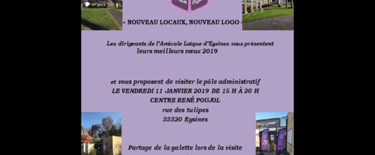 """Inauguration """"Nouveaux locaux, Nouveau Logo"""""""