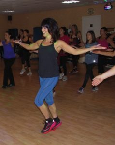 zumba estelle mairie Eysines bordeaux amicales laïque d'Eysines sports