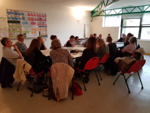 CA bénévoles réunion centre rené poujol concentré amicale laïque d'eysines activités mairie eysines