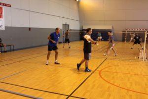 badminton jeunes enfants et ado garçons et filles mairie eysines sports