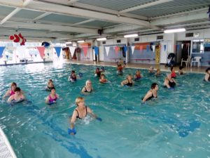 aquagym cours collectifs piscine pinsan aqua eysines