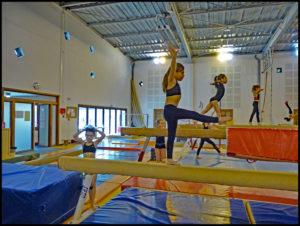 gymnastique artistique amicale laïque d'Eysines mairie bordeaux
