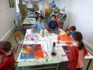 dessin peinture eysines arts plastiques atelier d'expression mairie bordeaux culture