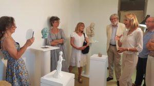 expo sculpture terre et modelage Amicale Laïque d'Eysnes mairie Bordeaux mairie Eysines ALE activités, loisirs