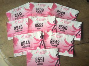 ruban rose bordeaux marche contre le dépistage du cancer du sein Eysines Mairie AMICALE LAÏQUE EYSINES