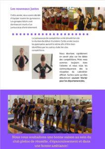magazine gymnastique sports Mairie Eysines Bordeaux Bruges Le Haillan Blanquefort Bordeaux