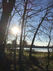 randonnée douce sport nature, loisirs, bien-être plage, bassin, printemps, Bordeaux Marie Eysines Amicale Laïque Eysines